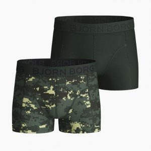 BJÖRN BORG BOYS DIGITAL WOODLAND SAMMY SHORTS,DUCK GREEN 2111-1162/81461