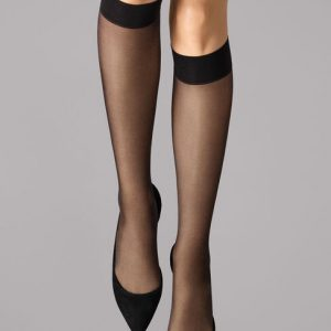 WOLFORD SATIN TOUCH 20 KNEE-HIGHS 31206