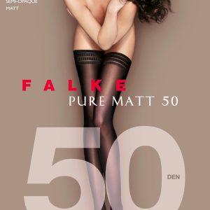 FALKE PURE MATT 50 STAY UPS 41551