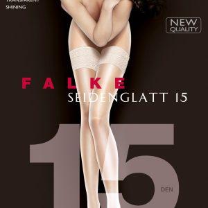 FALKE SEIDENGLATT 15 STAY UPS 41591