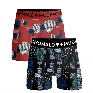 MUCHACHOMALO BOYS BOXERSHORTS MONEY & GAMBLE (2-PACK) 1010J-Q121-GAMBL04