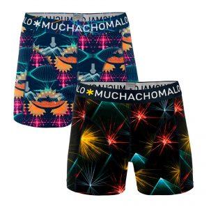 MUCHACHOMALO BOYS BOXERSHORTS (2-PACK)  ELECTRONIC DANCE MUSIC 1010J-Q420-CLMTC04