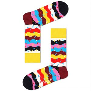 HAPPY SOCKS BIRTHDAY CAKE SPRINKLE SOCKS, BCS01-0200