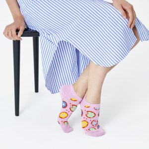 HAPPY SOCKS DONUT LOW SOCK, DON05-3000